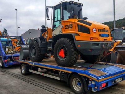2-Achs-Muldenfahrzeug mit 2-Achs-Multifunktionsanhänger Urs Huber Transport AG 12