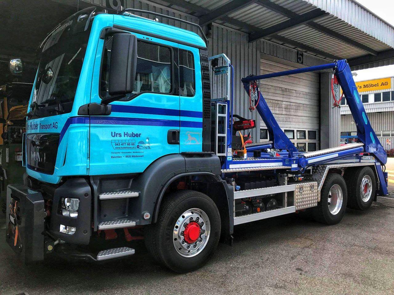 3-Achs-Muldenfahrzeug Urs Huber Transport AG