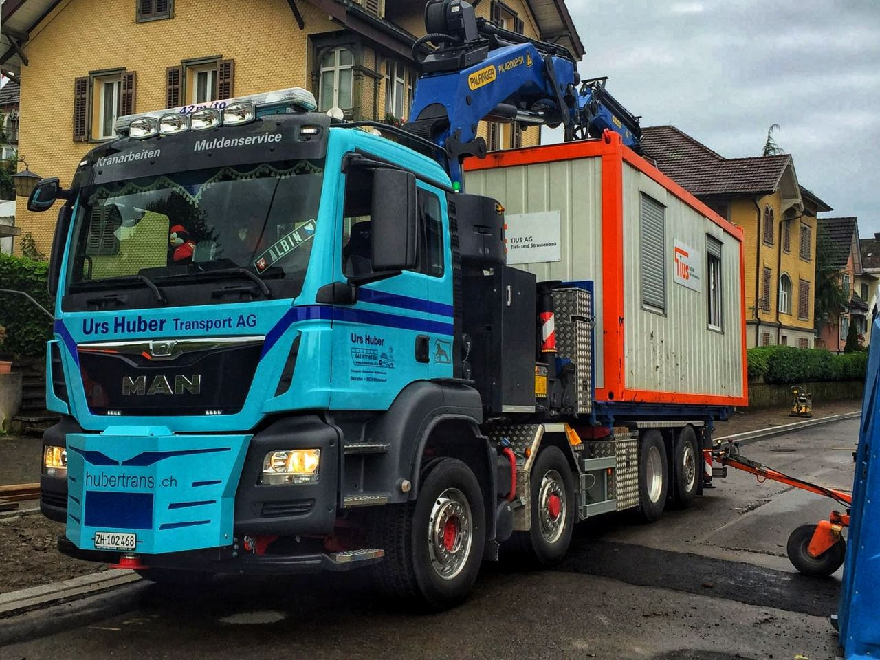 4-Achs-Kranwagen 25m4