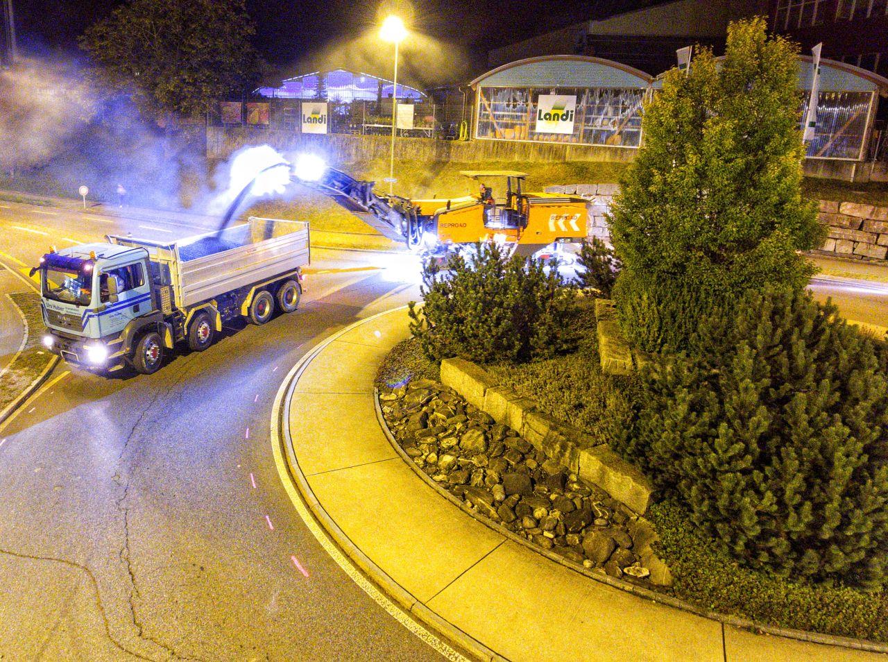4-Achs-Thermofahrzeug, Kipper Urs Huber Transport AG