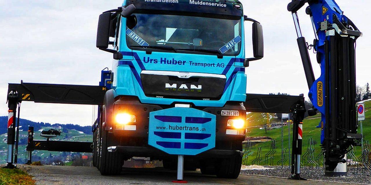 5-Achs-Kranwagen-35m Urs Huber Transport AG