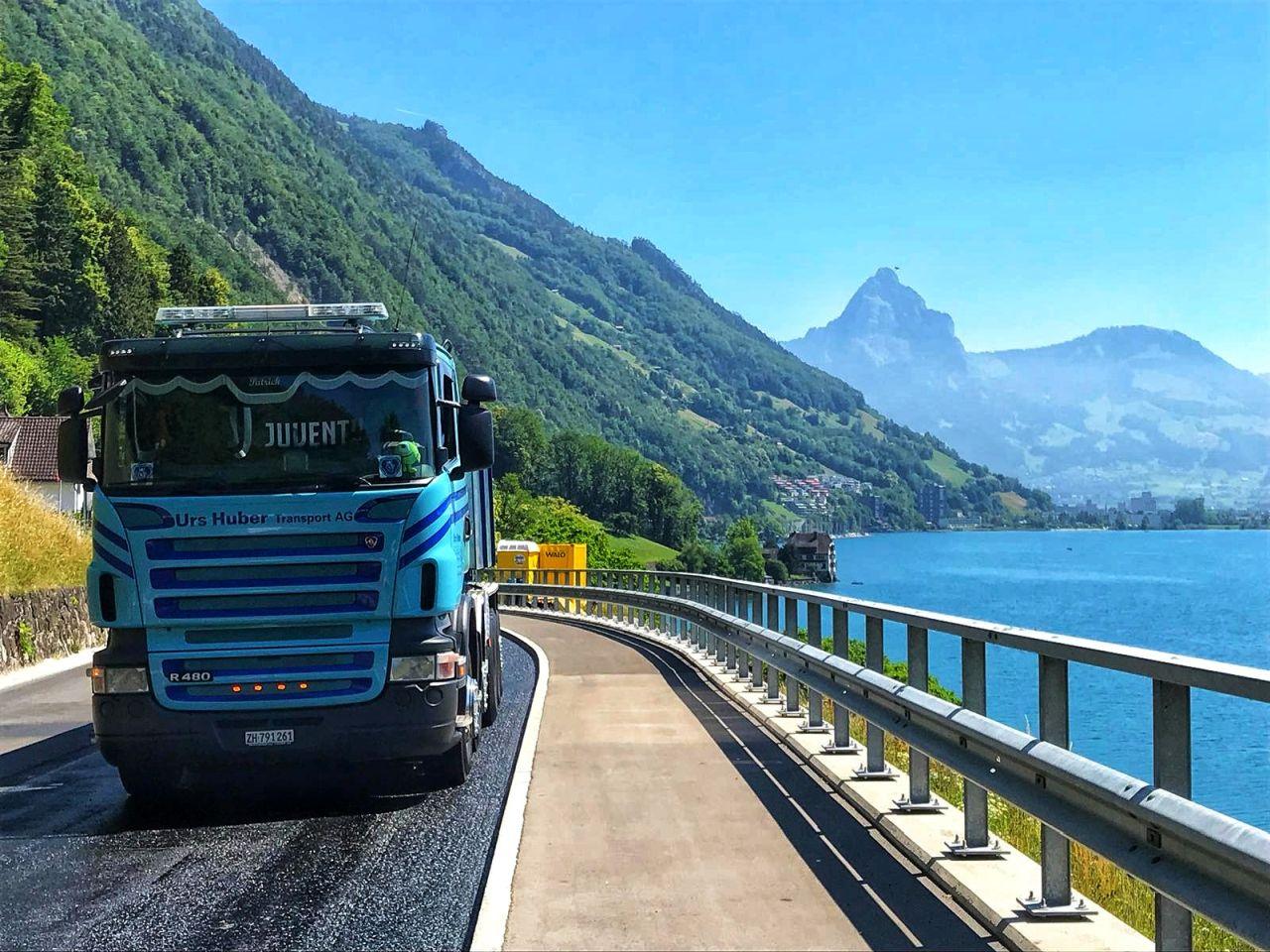 5-Achs-Thermofahrzeug, Kipper Urs Huber Transport AG 5