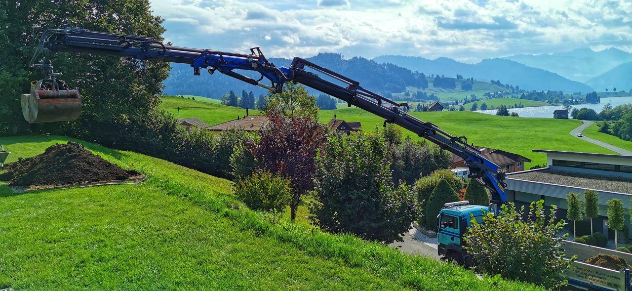 4-Achs-Kranwagen 25m